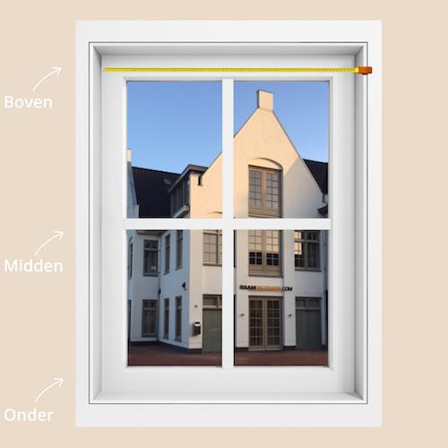 in de dag meten raamdecoratie