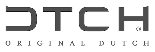 DTCH raamdecoratie logo