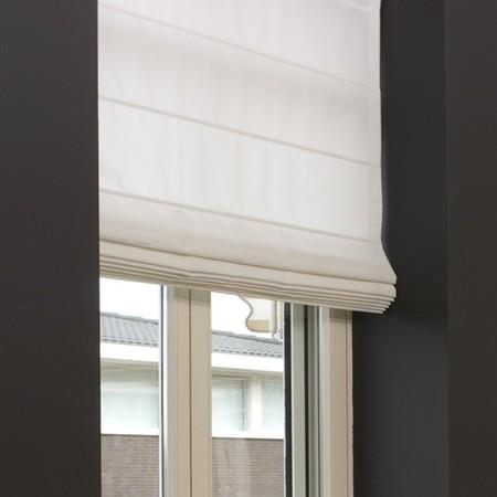 raamdecoratie ideeen vouwgordijn