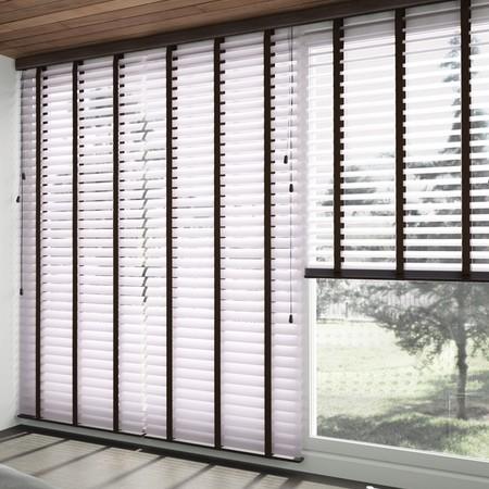 aluminium jaloezieen raambekleding voor schuifpuien